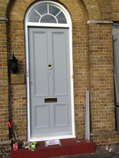 Front Door Renovation Complete